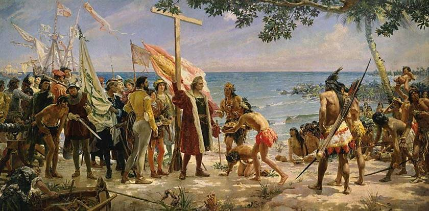 The_arrival_of_Christopher_Colombus_to_America,_1492