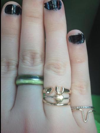 Mood Ring Finger