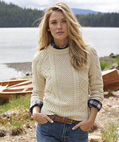 Irish sweater girl