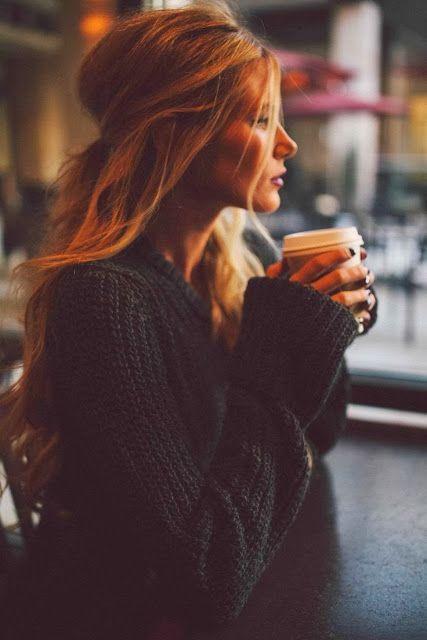 sad sweater girl