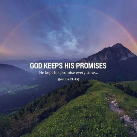 God keeps proises