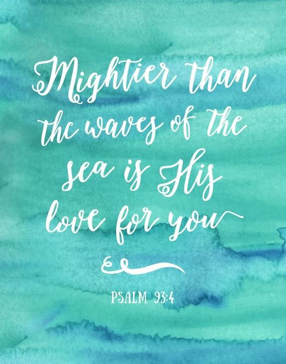 Mightier than waves