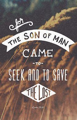 Seek and Save