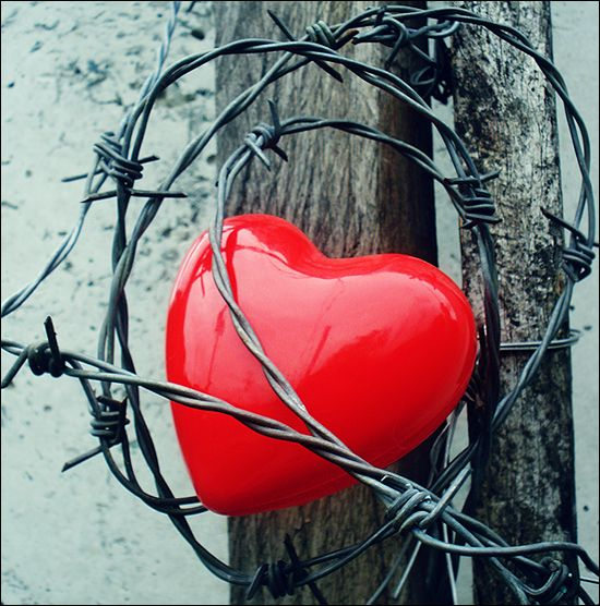 Trapped heart