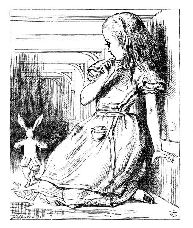 Alice being left alone