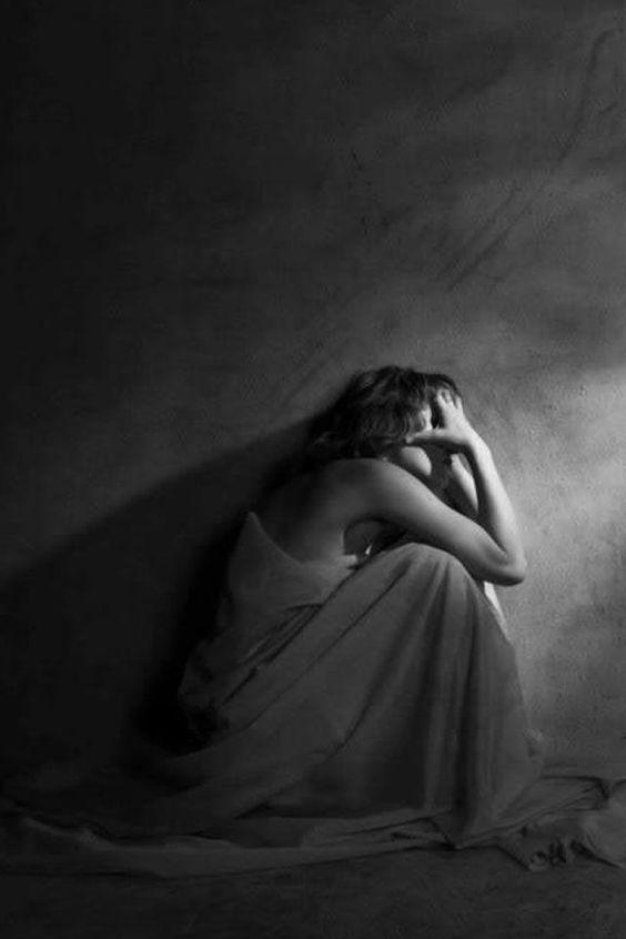 Depression black and white